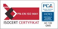 iso 9001 PCA